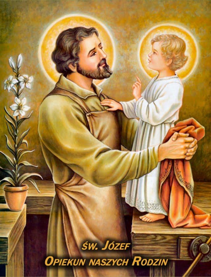 Znalezione obrazy dla zapytania św. Józef